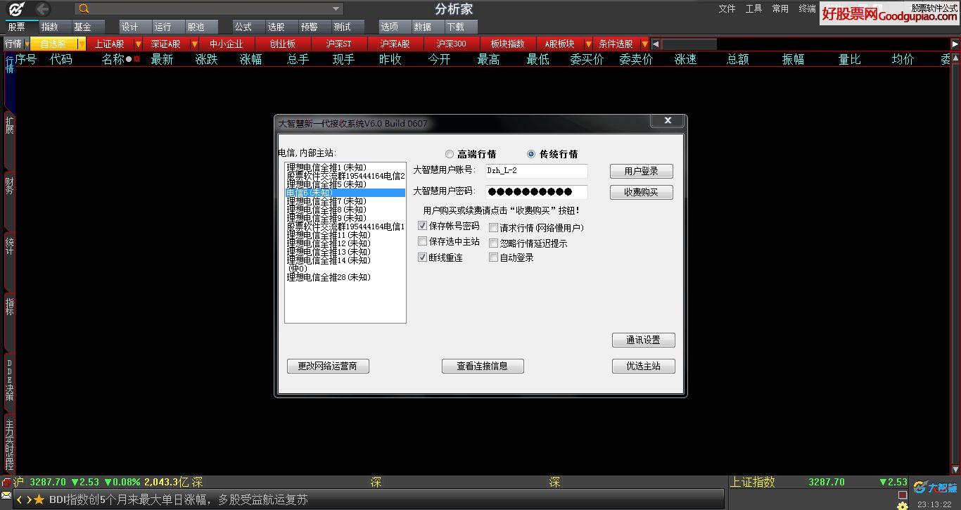 大智慧V7.10完美版 全推版