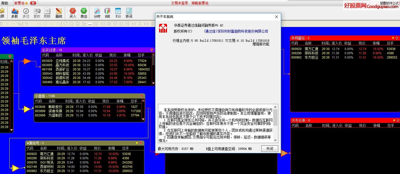 华泰证券通达信两融交易软件增加股票池功能