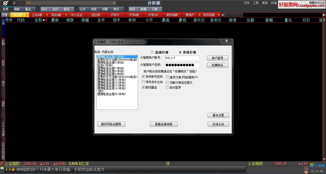 大智慧710免费全推商班完美版
